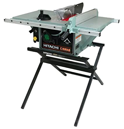 Hitachi c10ra2 10 inch portable table saw with metal stand hitachi c10ra2 10 inch portable table saw with metal stand discontinued by manufacturer greentooth Images
