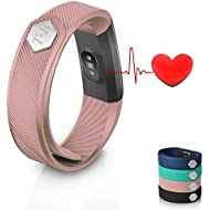 Fitness Tracker ID115 Heart Rate Monitor TopBest Sedentary Call Reminding Remote Self-Timer Sleep Qu