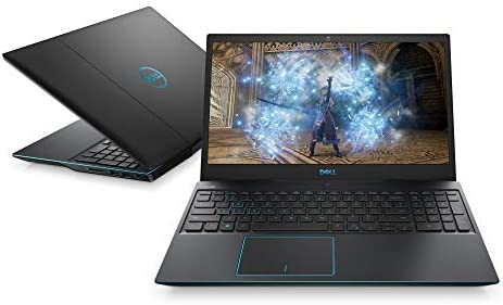 Dell Gaming G3 15 3500 - 15 Inch FHD, Intel Core i7-10750H tenth Gen, 16GB DDR4 RAM, 512GB SSD, Nvidia Geforce GTX 1650 Ti 4GB GDDR6, Windows 10 Home Eclipse Black
