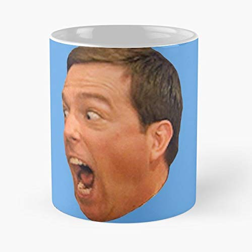 Andy Bernard The Office Tears His Scrotum - The Office 11 Ounces Funny Coffee Mugs.