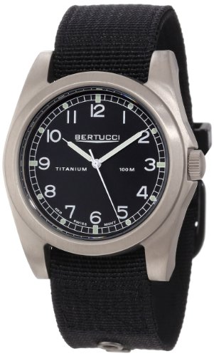 Bertucci-Mens-13304-A-3T-Vintage-42-Durable-Titanium-Field-Watch