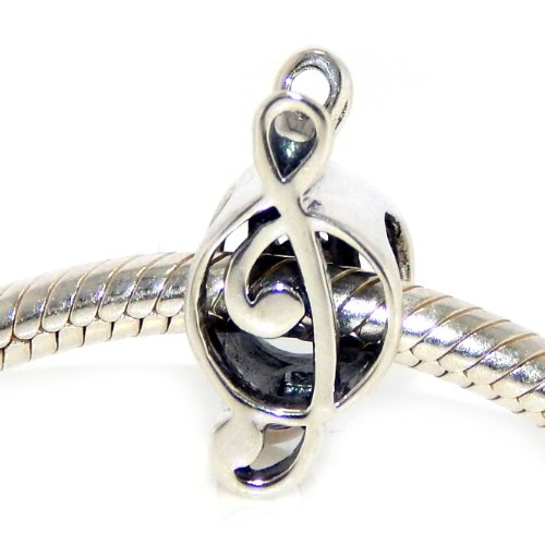 Pugster Music (Pro Jewelry .925 Sterling Silver