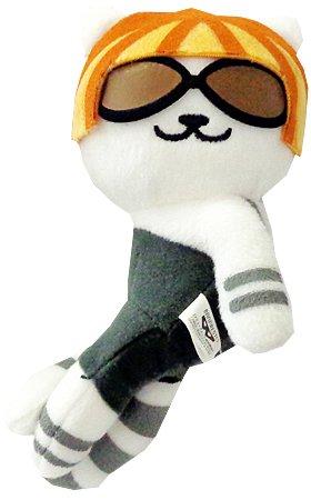 Banpresto Neko Atsume: Kitty Collector: Lady Meow-Meow Plush Doll Key Chain Vol.13 by Banpresto