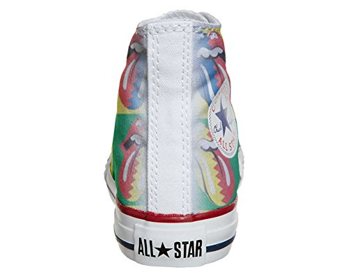 Converse All Star Customized - zapatos personalizados (Producto Artesano) Rolling Stones