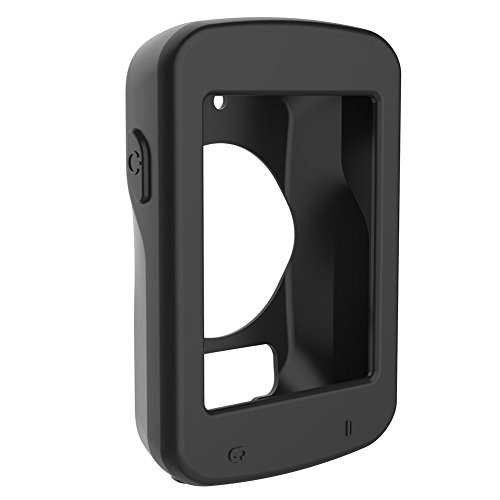 iRECOO-Silicone Protective Case For Garmin Edge 820 Bike GPS,Made of Silicone.(Black)
