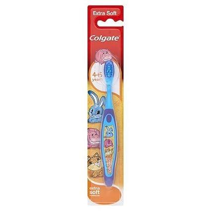Colgate Smiles Kids – Cepillo de dientes para niños 4 – 6 años (Pack de