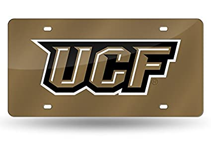 Gold NCAA Purdue Boilermakers P Laser Inlaid Metal License Plate Tag