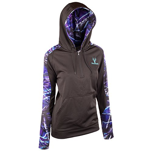 ccea5c397af Huntworth 9038-W-31 Women s Lifestyle Performance Fleece Hoodie