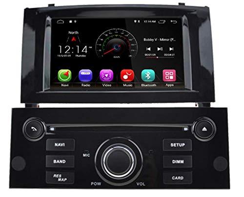 Sunshine Fly Android 8.0 DVD Navi GPS estéreo para Peugeot ...