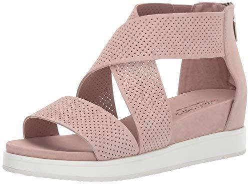 (Blondo Women's Cassie Sandal, Light Pink Suede, 11.0 Medium US)