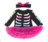 seipe Halloween Girl Skeleton Costume Dressed Up Elf Outfit Cute Habiliment Suit