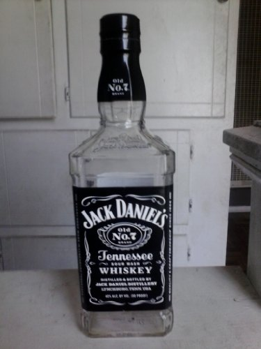 empty bottle of jack daniels - 1