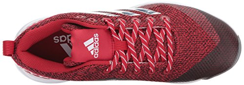 Scarpa Adidas Da Uomo Freak X Carbon Mid Soft, Potere Rosso / Argento Metallizzato / Bianco, 12,5 Medio Noi