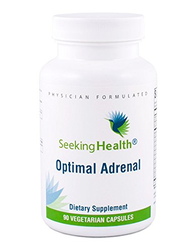 Seeking Health | Optimal Adrenal | Adrenal Support Supplement | 90 Vegetarian Capsules for Adrenal Health