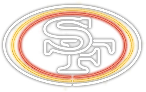 Imperial Officially Licensed NFL Merchandise: Neon Light, San Francisco - Table San Francisco Pub 49ers