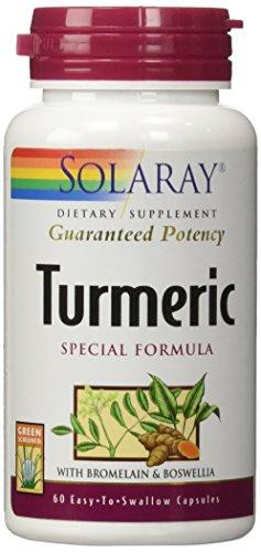Solaray - Turmeric Special, 60 - Solaray Extract Turmeric Root