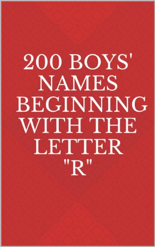 200 Boys' Names Beginning with the Letter