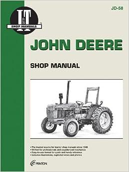 John Deere Shop Manual 2150, 2155, 2255, 2350, + (I and T Shop Service)