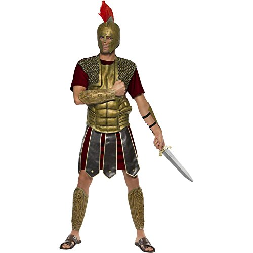 [Perseus The Gladiator Costume - Medium - Chest Size 38-40] (Mens Perseus The Gladiator Costumes)