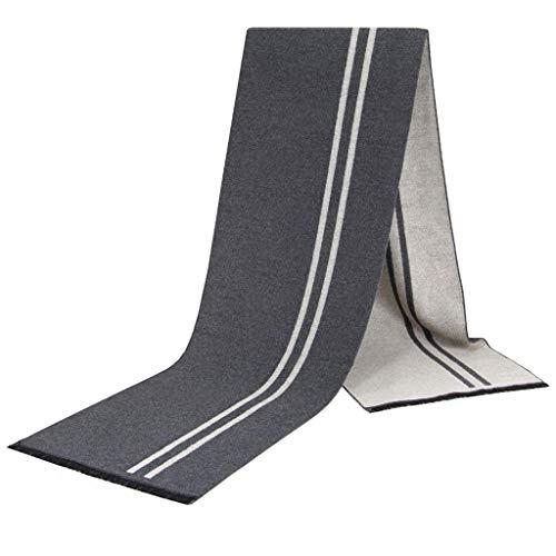 軽蔑保全システムスカーフメンズファッションウェア装飾ファッションコントラストスカーフ、ビジネスカジュアルウォームスカーフ