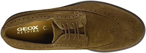 Stringate Uomo U Damocle A Geox Derby Scarpe Brown Marrone xTaIqpwS
