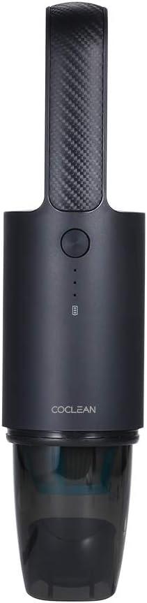 Carrfan Xiaomi Limpiador Inalámbrico de Coche Aspirador portátil Colector de Polvo portátil Aspirador Fuerte Succión