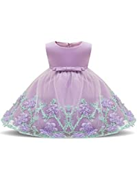 AIgogo Baby Girl Party Dresses Pageant Princess Tulle Wedding Infant Easter Dress