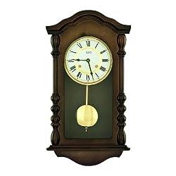 Style clock Regulator with 14 day wind up mechanism from Zeitpunkt (Zeit.punkt)