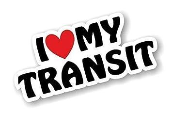 I Love Herz Luv My Transit Design Fur Mk1 Mk2 Mk3 Mk4 Mk5 Mk6 Mk7
