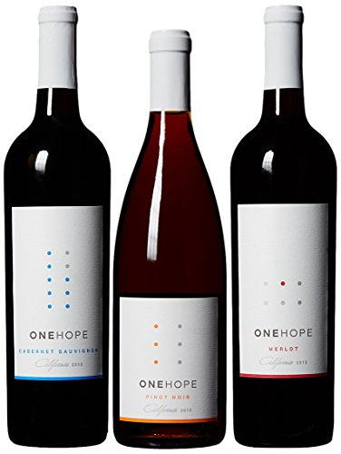 ONEHOPE-California-Reds-Wine-Mixed-Pack-Includes-California-Merlot-Pinot-Noir-Cabernet-Sauvignon-3-Pack-3-x-750-mL