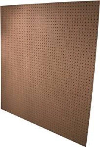 - ALEXANDRIA MOULDING PG002-6H048C American Wood PEGreat Britan RD-31644 Standard Perforated Hardboard, 4' L x 4' W x 3/16