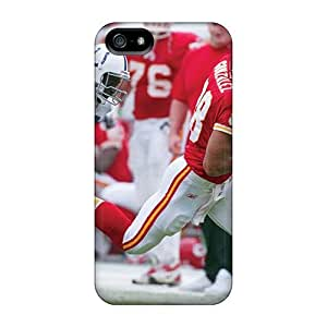Excellent Iphone 5/5s Case Tpu Cover Back Skin Protector Kansas City Chiefs