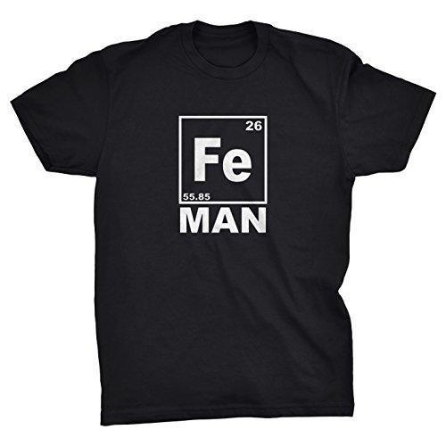 Periodic Ironman T-shirt (BLACK, - Clothing Ironman Uk