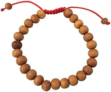 Buddhist sandalwood bracelet for women rose quartz fertility bracelet yoga bracelet wrist mala bracelet sandalwood meditation bracelet gift