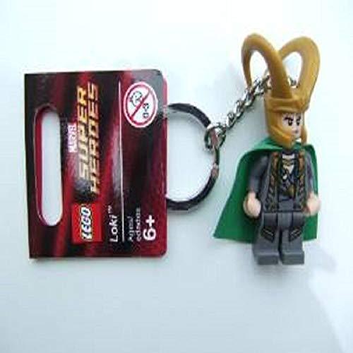 LEGO Loki Key Chain 850529 Marvel Super Heroes Mini Figure Keychain ()