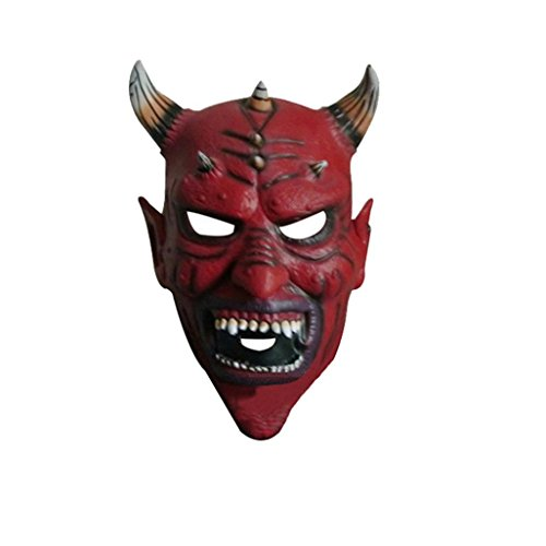 Leoy88 Bloody Horror Halloween Mask Costume Cosplay Carnival (A) (Celebrity Couples Halloween Costumes)