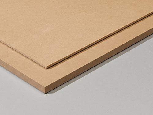 Tableros de madera DM (MDF) de 3MM. Tamaños disponibles A0, A1, A2, A3, A4, A5 (a elegir). Soporte para manualidades, decoración, láser, CNC, pirograbado, pintura. (A5 (10 piezas))