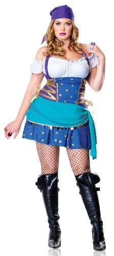 Gypsy Princess Adult Costume - Plus Size 1X/2X
