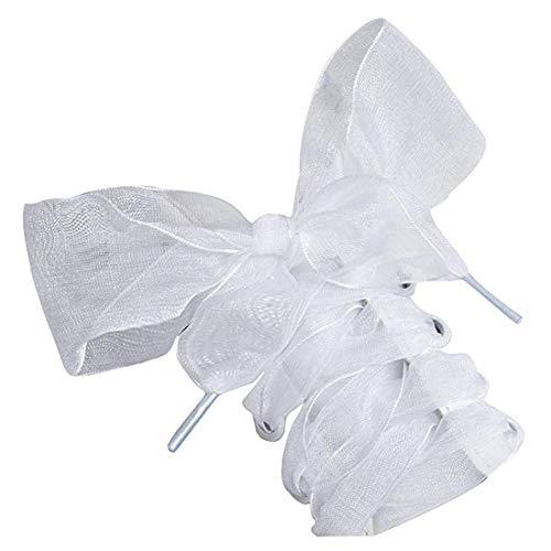 - shoe Laces, Soft Casual Flat Satin Ribbon Shoelaces Sneaker Shoestrings for Women Girls