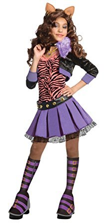Monster High Deluxe Clawdeen Wolf Costume - Small ()