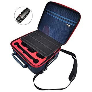 Magictodoor Locking Hardshell Carry Case Compatible with Nintendo Switch