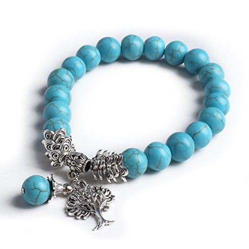 Tibetan Pendant Gemstone Birthstone Bracelet