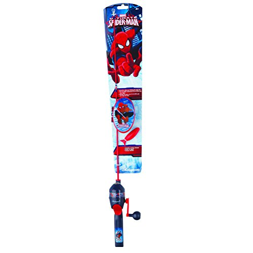 Shakespeare Spiderman Fishing Tackle Box Kit