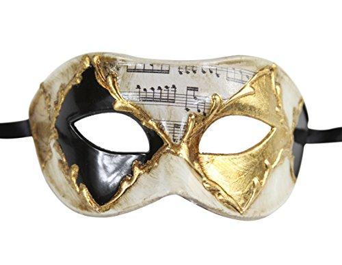 Luxury Mask Men's Vintage Design Masquerade Prom Mardi