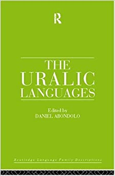 The Uralic Languages (Routledge Language Family Series) 9780415081986 Higher Education Textbooks at amazon