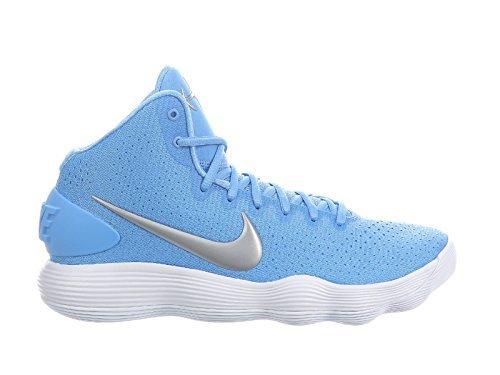 26ad14c5f004 Galleon - NIKE Men s React Hyperdunk 2017 University Blue Metallic  Silver White Nylon Running Shoes 10 D US