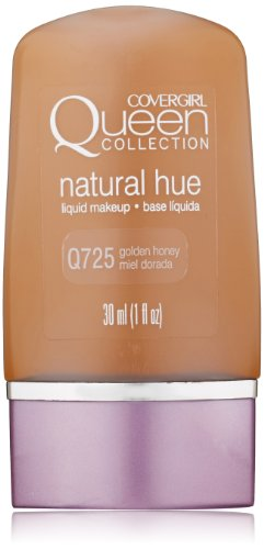 COVERGIRL Queen Collection Natural Hue Liquid Makeup Foundation Golden Honey 1 oz