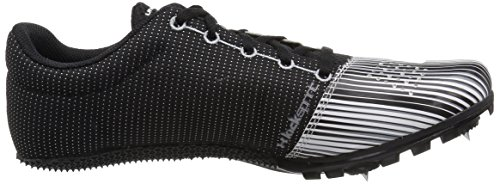 Under Armour Men's Kick Sprint Spike Running Shoe White (100)/Black 12 by Under Armour (Image #7)