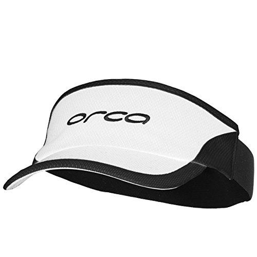 (ORCA Flexi-Fit Visor (White/Black))