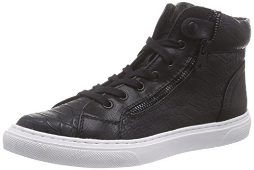 098 Tozzi Sneakers 25254 Schwarz Hohe Damen black Marco Comb